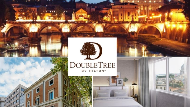 H.n.h. Hotels and Resorts apre il primo DoubleTree by Hilton a Roma